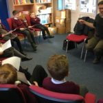 MP undergoes questioning by school pupil parliament