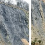 Captured cliff fall raises awareness of cliff edge dangers following recent storms
