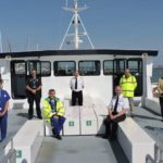 Local cruise firm supports cross-Solent patient transfers